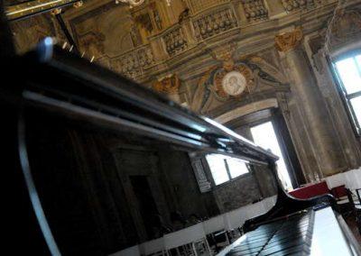 Pianoforte - Salone d'Onore Palazzo Leti Sansi